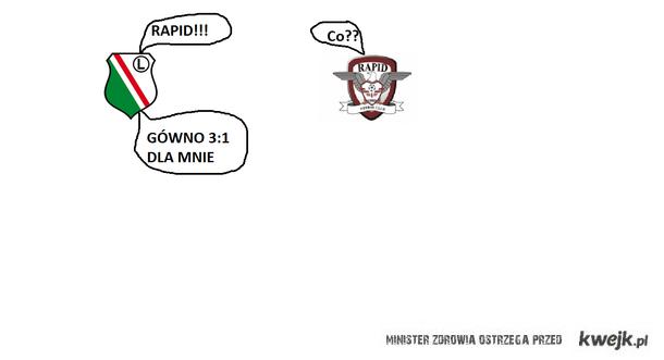 Legia 3:1 Rapid