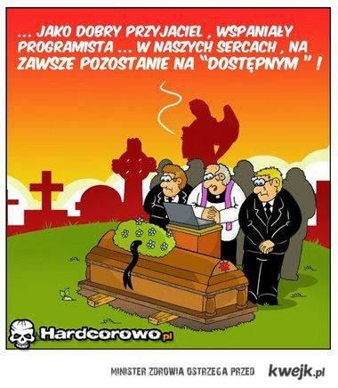Pogrzeb informatyka