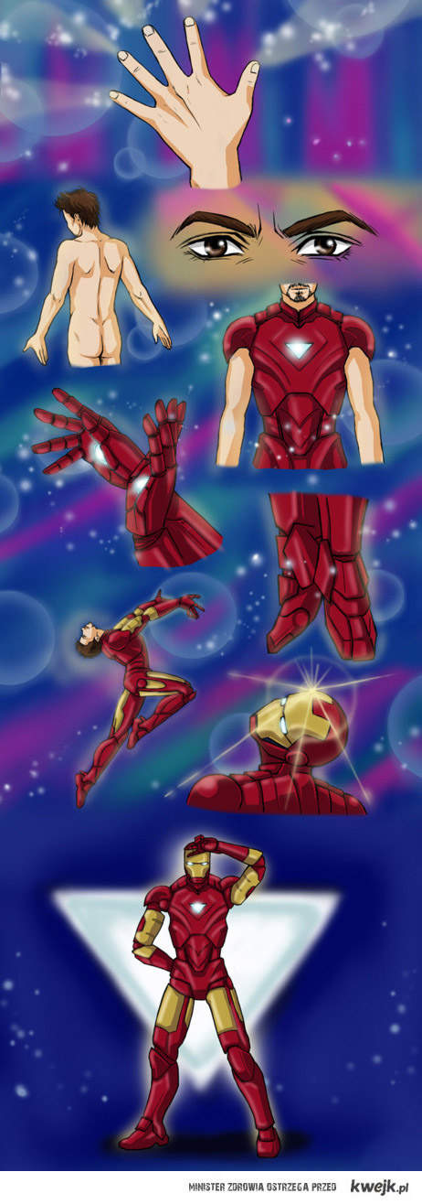 iron man - czarodziejka
