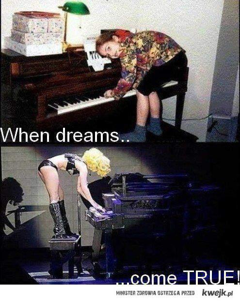 Gaga's dream