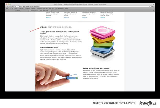 POLSKIE Apple - Dizajn to podstawa.