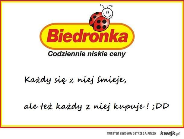 Biedronka ;DD
