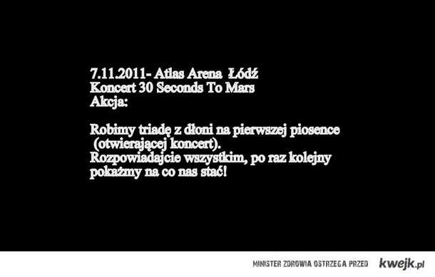 akcja na 30 seconds to mars