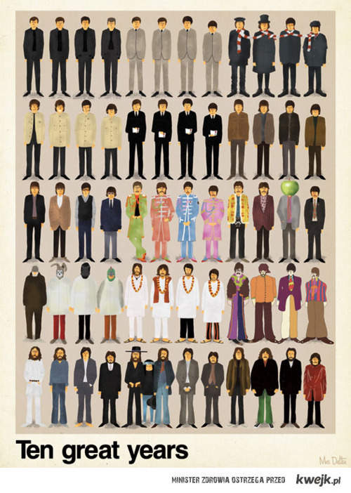 Ten Great Years With The Beatles <3