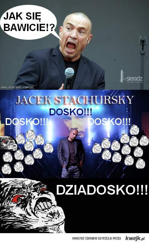 Mistrz ciętej riposty na koncercie Stachurskiego!