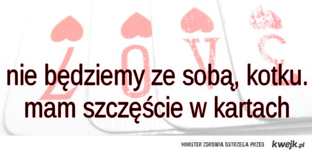 szczęście w kartach
