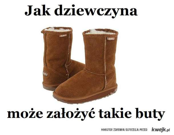 Jak dziewczyna może ubrać buty EMU