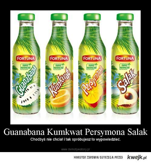 guanabana kumkwat persymona salak