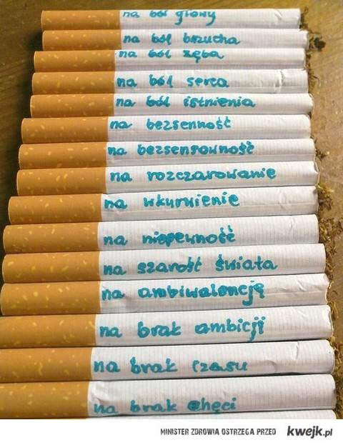 fajki na różne okazje