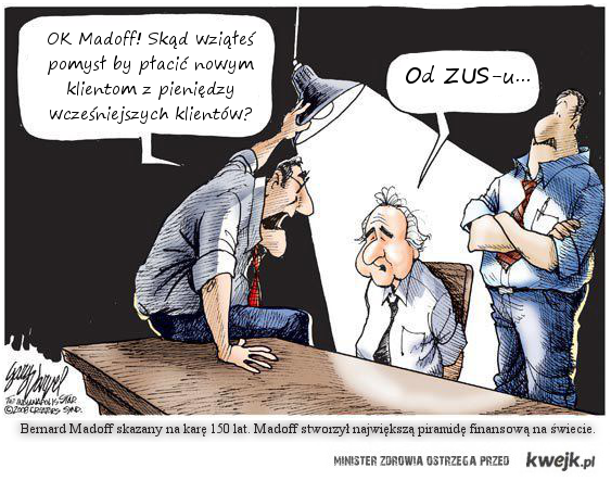 Madoff and ZUS