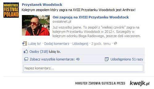 ANTHRAX NA WOODSTOCKU!