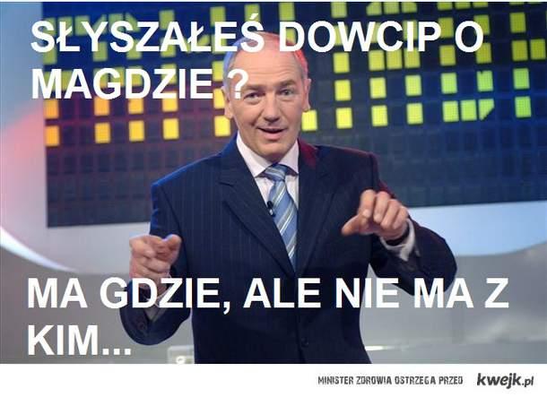 Dowcip o Magdzie