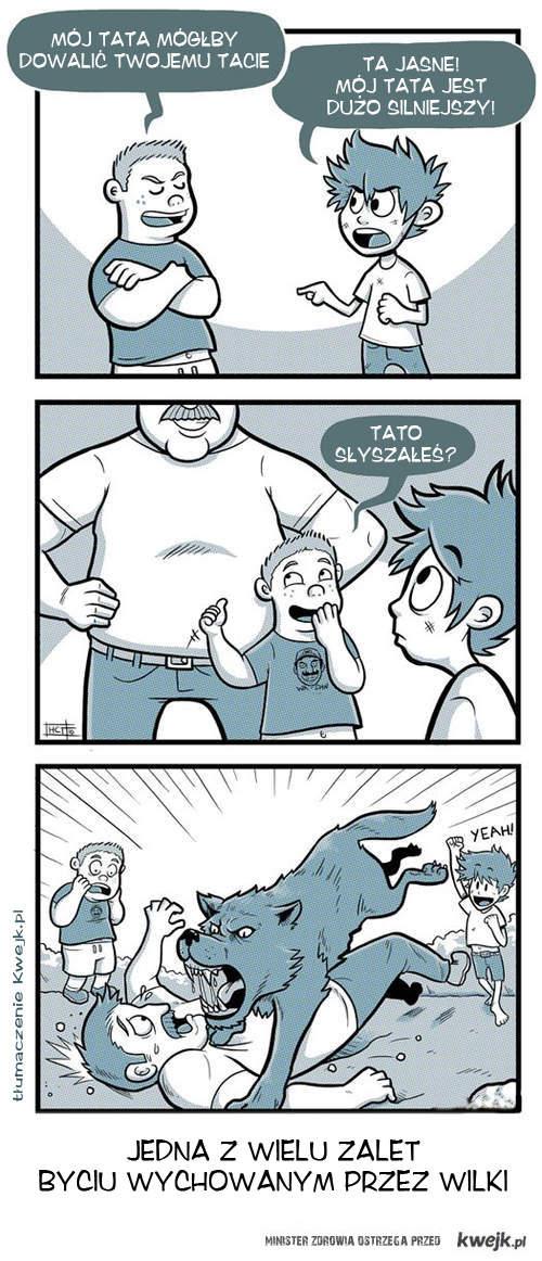 Wychowanie przez wilki
