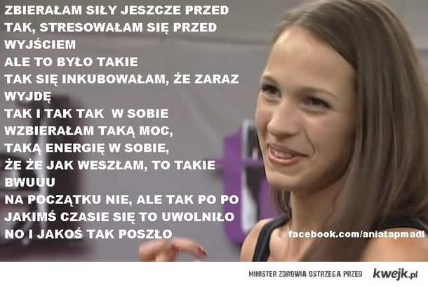 Ania Bałon.