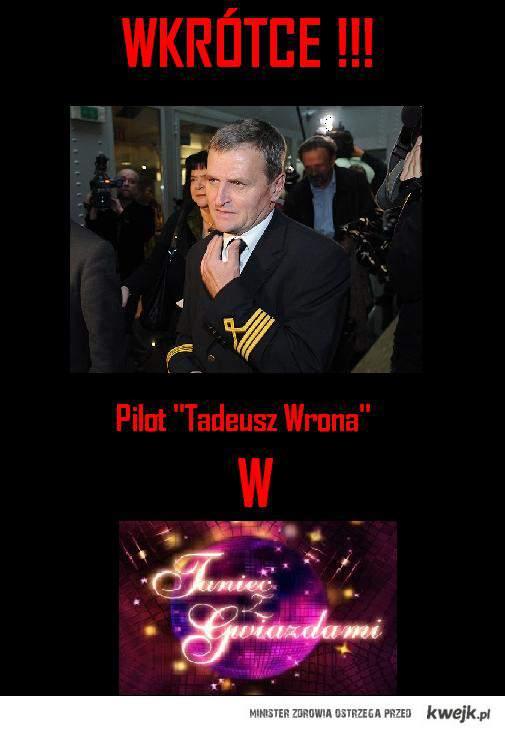 Pilot Tadeusz Wrona