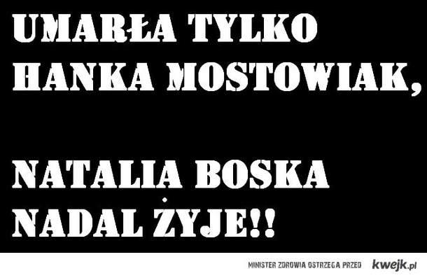 Hanka Mostowiak vs Natalia Boska