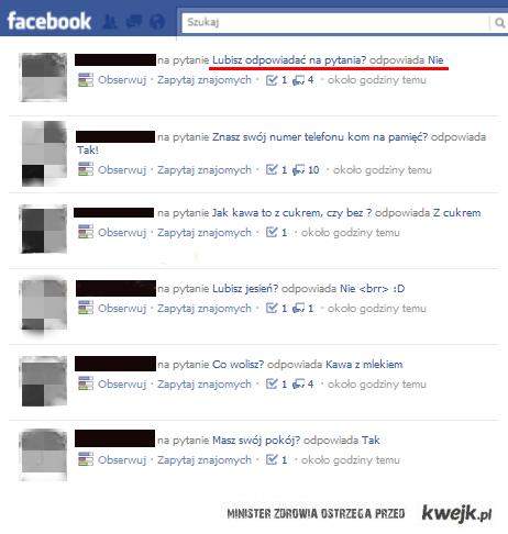 Odpowiedzi Na Facebooku