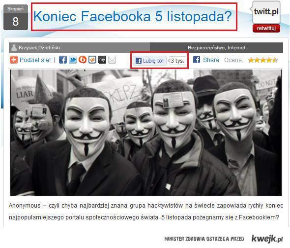 paradoks facebook'a