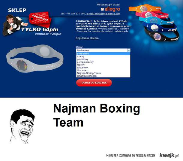 Najman boxing team