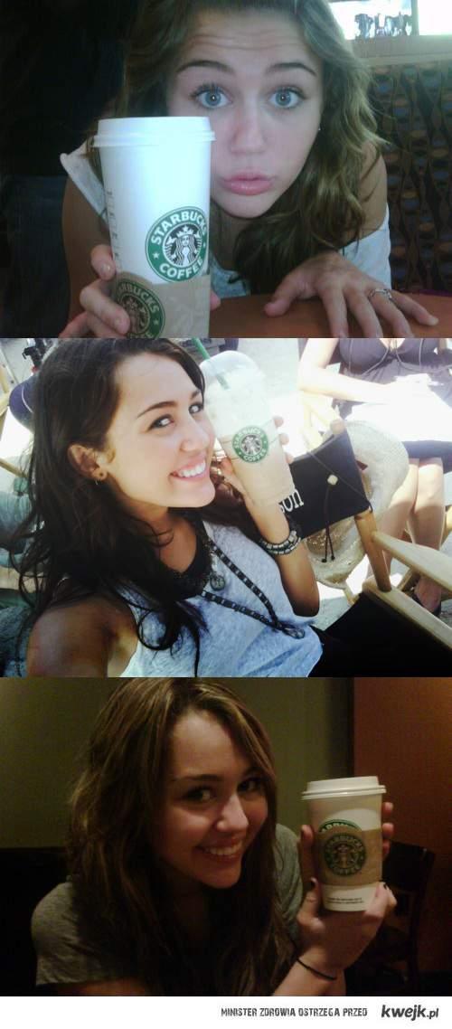 Miley kocha starbucks