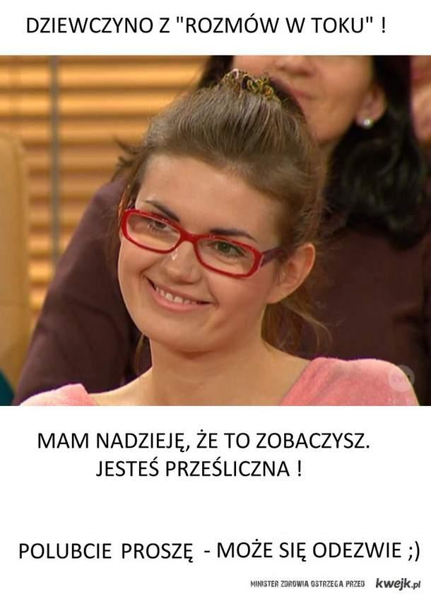 """Dziewczyna z """"Rozmów w toku"""""""