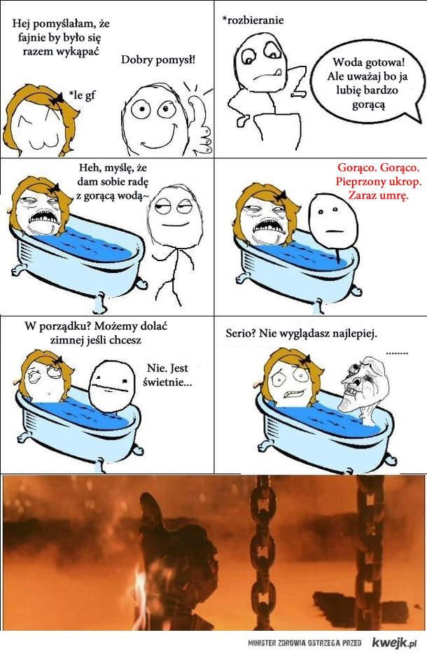 Gorąca kąpiel