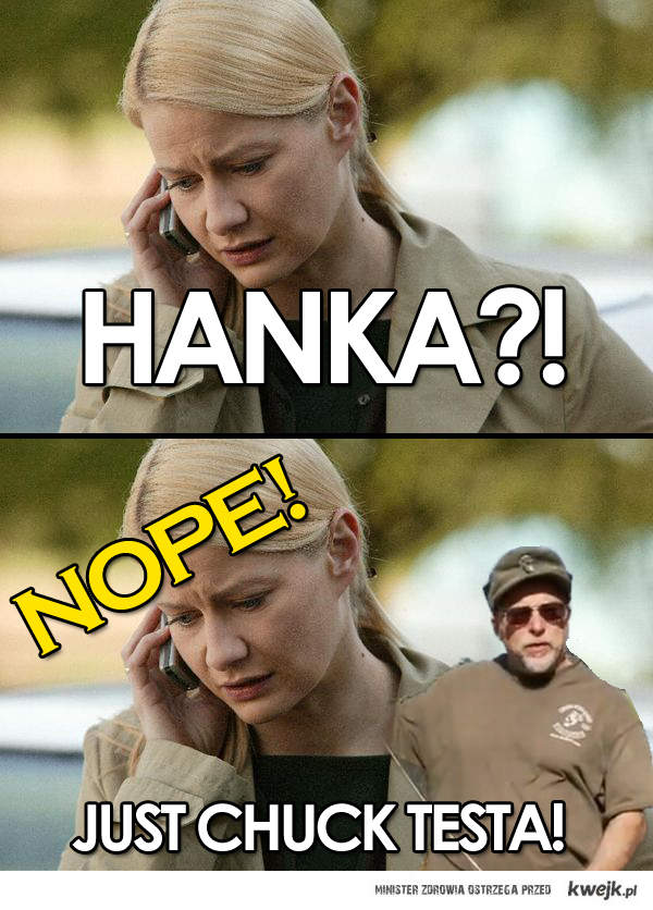 Hanka i Chuck Testa