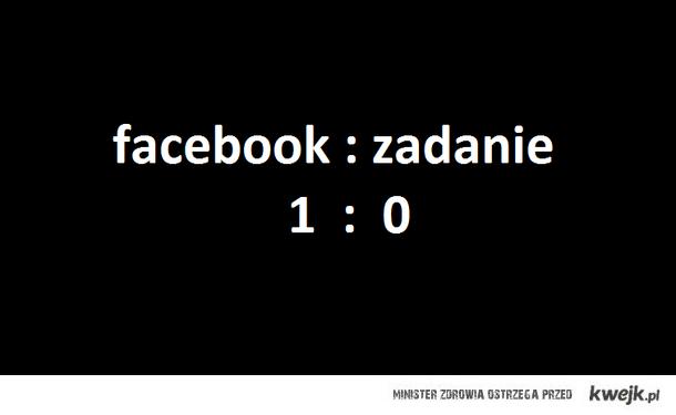 facebook vs szkoła
