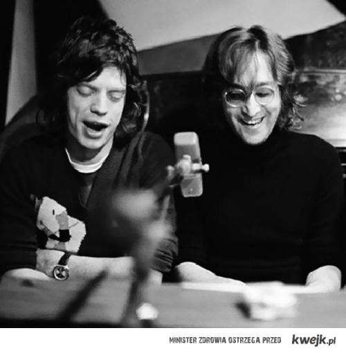Jagger i Lennon :D