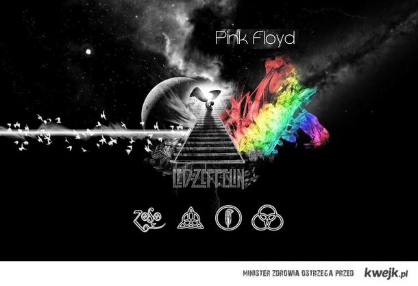 Led Zeppelin & Pink Floyd