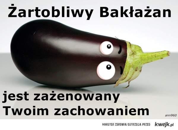Żartobliwy Bakłażan