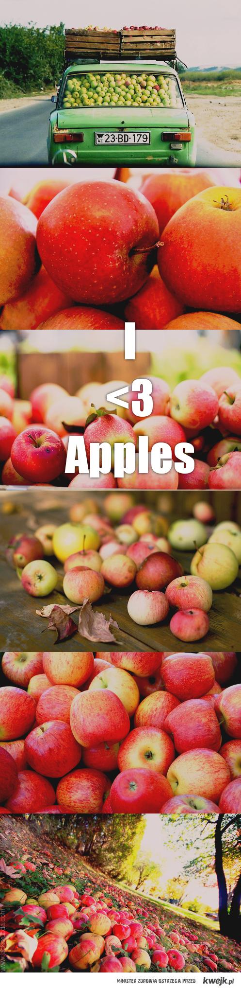 I <3 apples