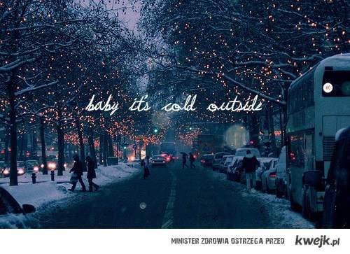 jest zimno