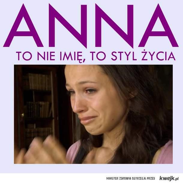 Anna to nie imię!