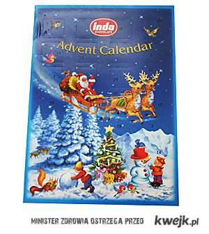 Już niedługo, kalendarz adwentowy!