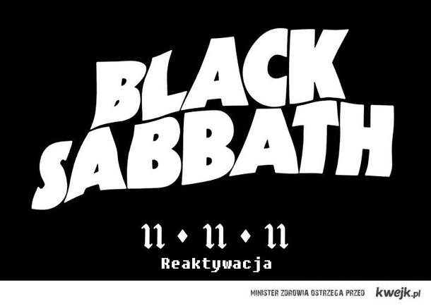Black Sabbath Reaktywacja