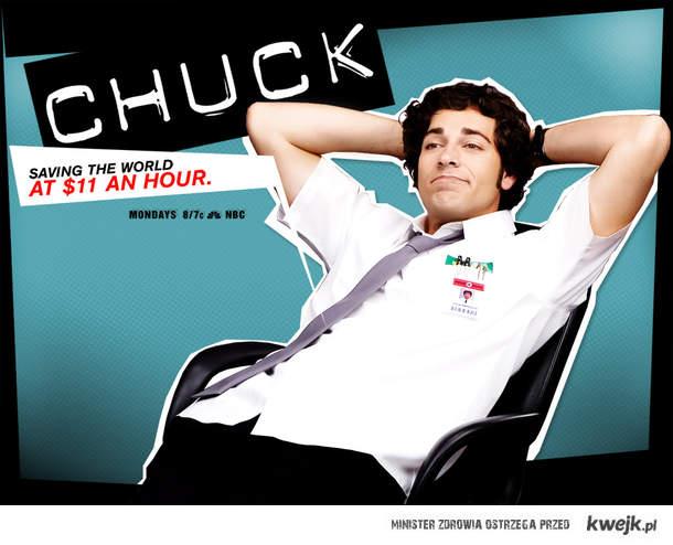Oglądaj Chucka w piątki(nie w poniedziałek)