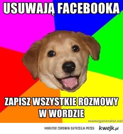 Advice dog - fb