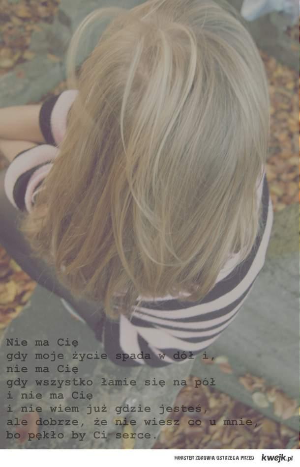 nie ma cię