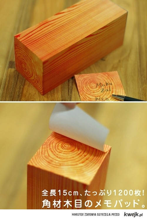drewniane Notki