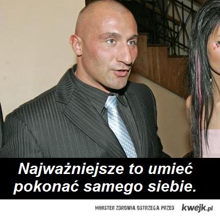 Marcin Najman po walce z Saleta