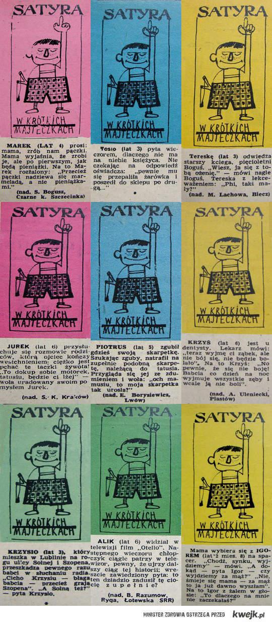 satyra w krótkich majteczkach 1951