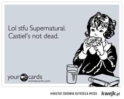 castiel's not dead!