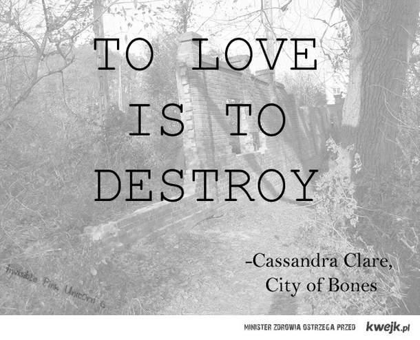 cytat, Cassandra Clare