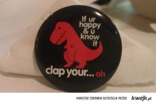 clap your...