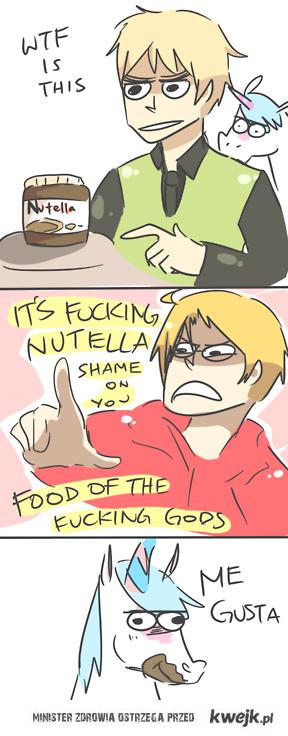 Jedzenie dla bogów.