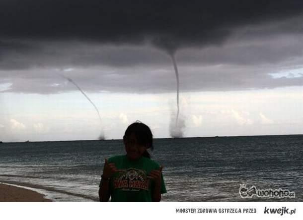 A ty byś chciał mieć zdjęcie z tornadem?