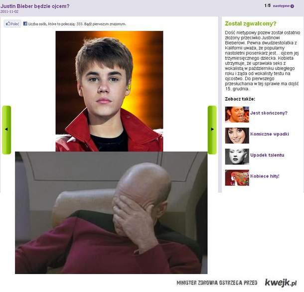 Bieber ojcem