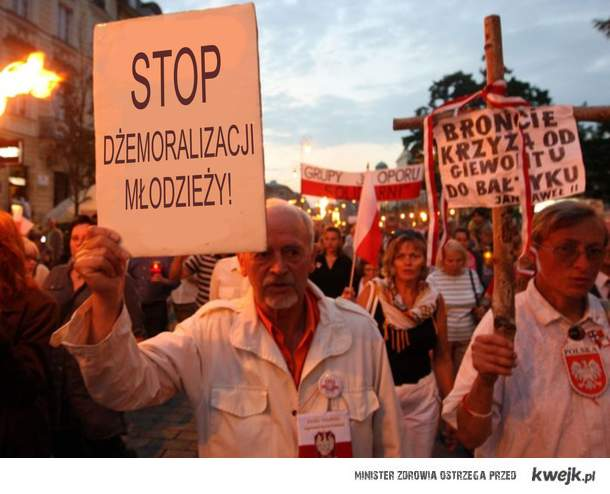 Stop dżemoralizacji!