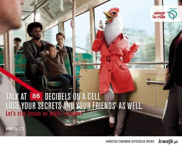Pozostańmy ludźmi w środkach transportu publicznego